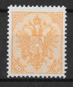 BOSNIA 1900 - AFA 19 leimaamattomana
