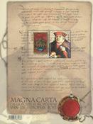 Belgium - Magna Carta - Mint souvenir sheet
