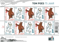 Holland - Tom Poes - Postfrisk småark