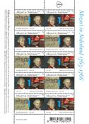 Netherlands - Mozart - Mint sheetlet