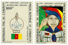 Cameroun - YT  PA307-08 - Postfrisk
