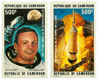 Cameroon - YT  PA342-43