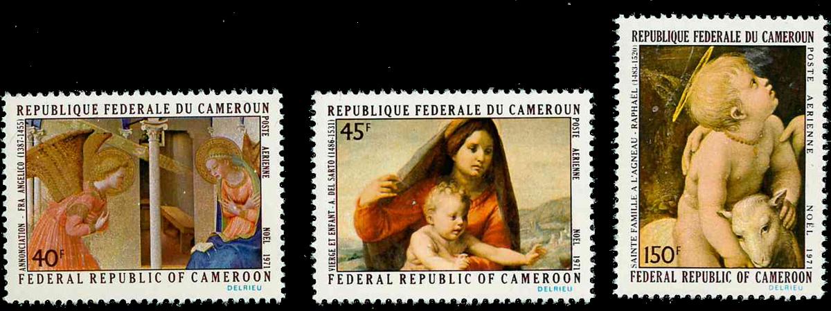 Cameroun - YT  PA193-95 - Postfrisk