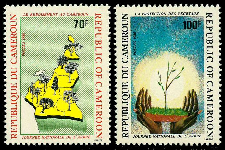 Cameroun - YT  810-11 - Postfrisk