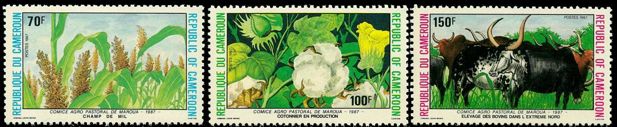 Cameroun - YT  819-21 - Postfrisk