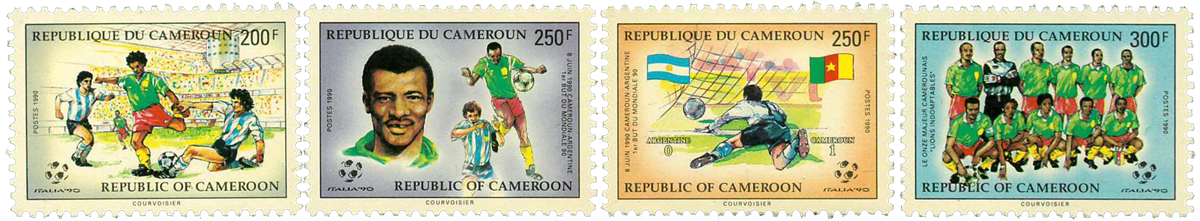 Cameroun - YT  827-30 - Postfrisk