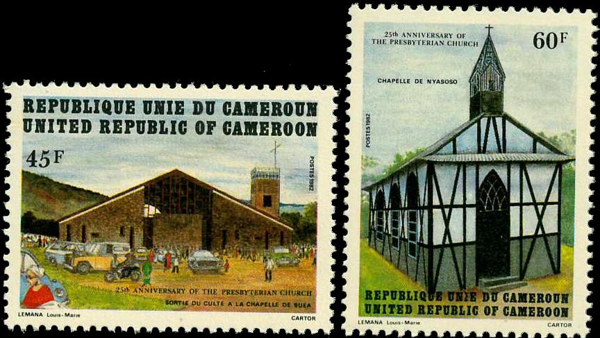 Cameroun - YT  702-03 - Postfrisk