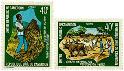 Cameroun - YT  594-95 - Postfrisk