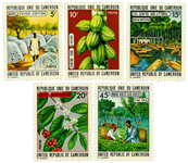 Cameroun - YT  536-40 - Postfrisk