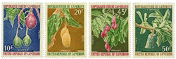 Cameroun - YT  554-57 - Postfrisk