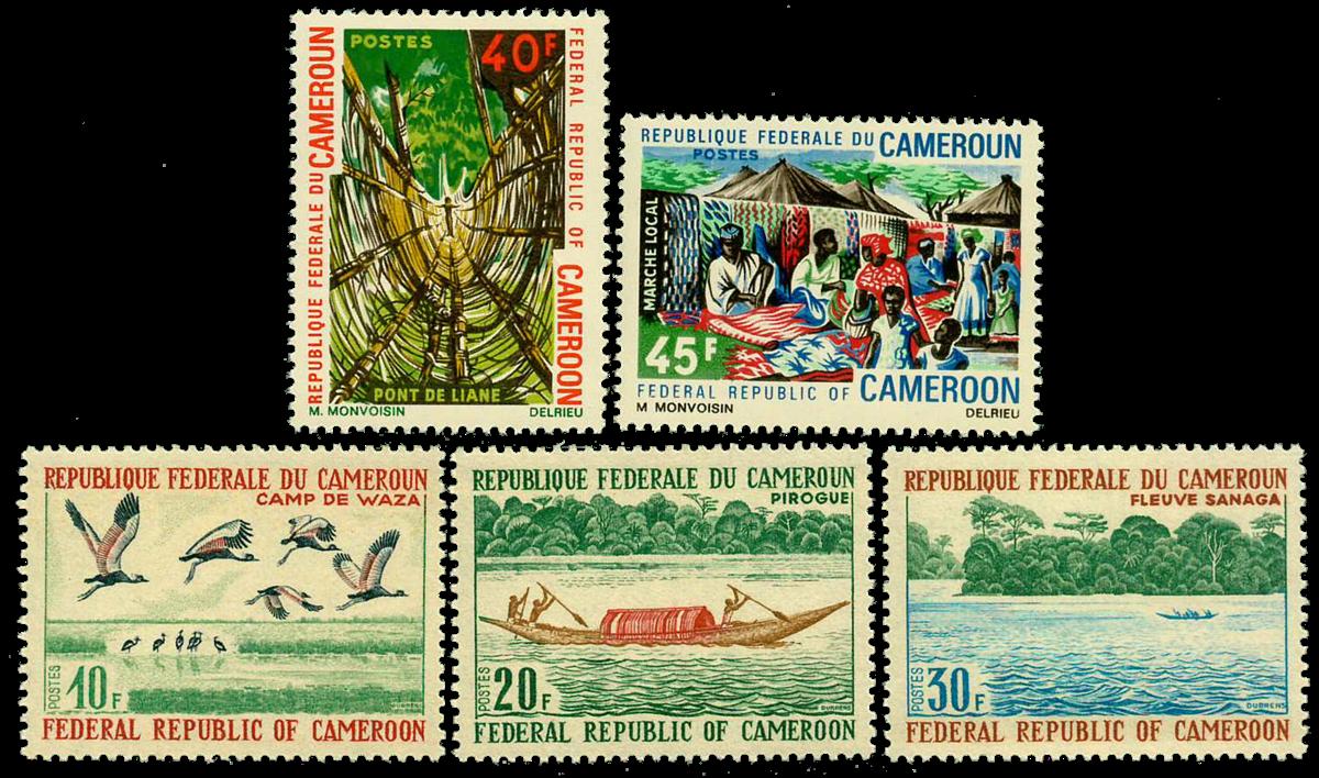 Cameroun - YT  501-05 - Postfrisk