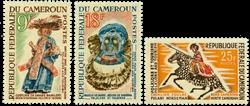Cameroun - YT  386-89 (-88) - Postfrisk