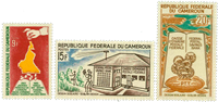 Cameroun - YT  396-98 - Postfrisk