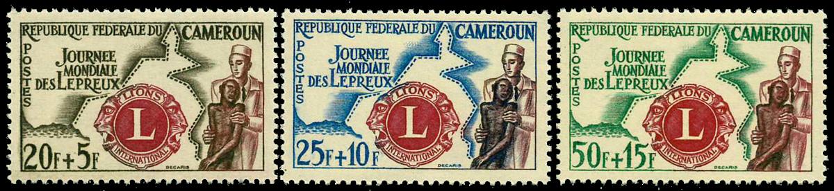 Cameroun - YT  335-37 - Postfrisk