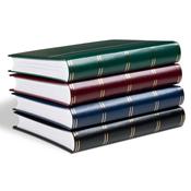 Album Leuchtturm pour 128 lettres et cartes postales - Vert - A4 - 64 pages blanches -couverture oua