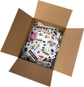 USA - Kiloware - Box with 3 kg incl. inlay