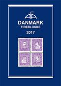 AFA Denmark block of 4 catalog 2017