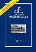 AFA Denmark stamp catalogue 2017