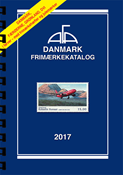 AFA Denmark 2017 stamp catalogue with spiral back binding