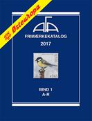 AFA Østeuropa frimærkekatalog bind I, 2017 (A-R)