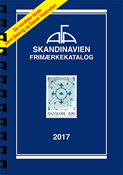 AFA Scandinavia stamp catalogue 2017 with sprial back binding