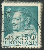 Grønland - Fr. IX bundt - 1963-64 - ca. 100 stk.