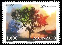 Monaco - Sepac - Postfrisk frimærke
