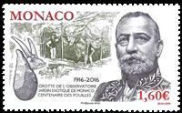 Monaco - Den eksotiske have udgravning - Postfrisk frimærke