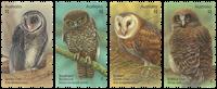 Australia - Owls - Mint set 4v