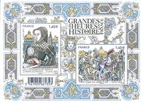 France - Big historical moments - Mint souvenir sheet