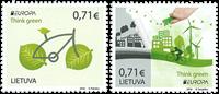 Litauen - Europa 2016 - Postfrisk sæt 2v