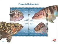 Portugal - Fisk - Postfrisk miniark
