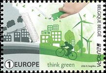 Belgien - Europa 2016 - Postfrisk frimærke