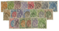 Netherlands 1921 - NVPH 56-76 - Cancelled