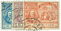 Netherlands 1907 - NVPH 87-89 - Cancelled