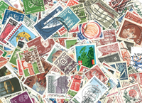 Scandinavia 1000 different stamps