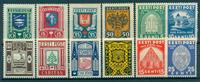 Estland - 1936-38