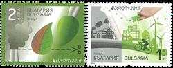 Bulgarien - Europa 2016 - Postfrisk sæt 2v