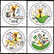 Irak - Fodbold VM Brasilien - Postfrisk sæt 4v