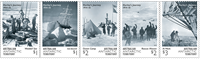 Australian Antarctic - T.Frank Hurley - Mint set 5v