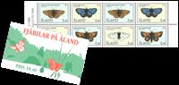 Åland - Sommerfugle hæfte - Postfrisk