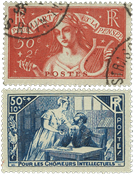 France 1935 - YT 307-08 - Cancelled