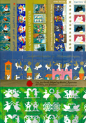 Denmark - Christmas seals complete sheets