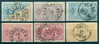 Sverige - Tjeneste - 1874-85