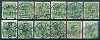 Denmark - Collection - 1913