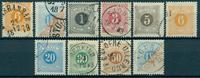Sverige - Porto - 1874-82