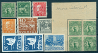 Sverige - 1910-42