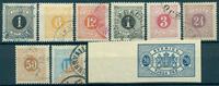 Sverige - Porto - 1874-91