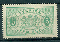 Sverige - Tjeneste - 1874