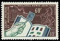 St. Pierre & Miquelon 1964 - YT 371 - Int. Udstilling